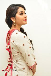 Actress Rashi Khanna Stills At Supreme Audio Launch  0051