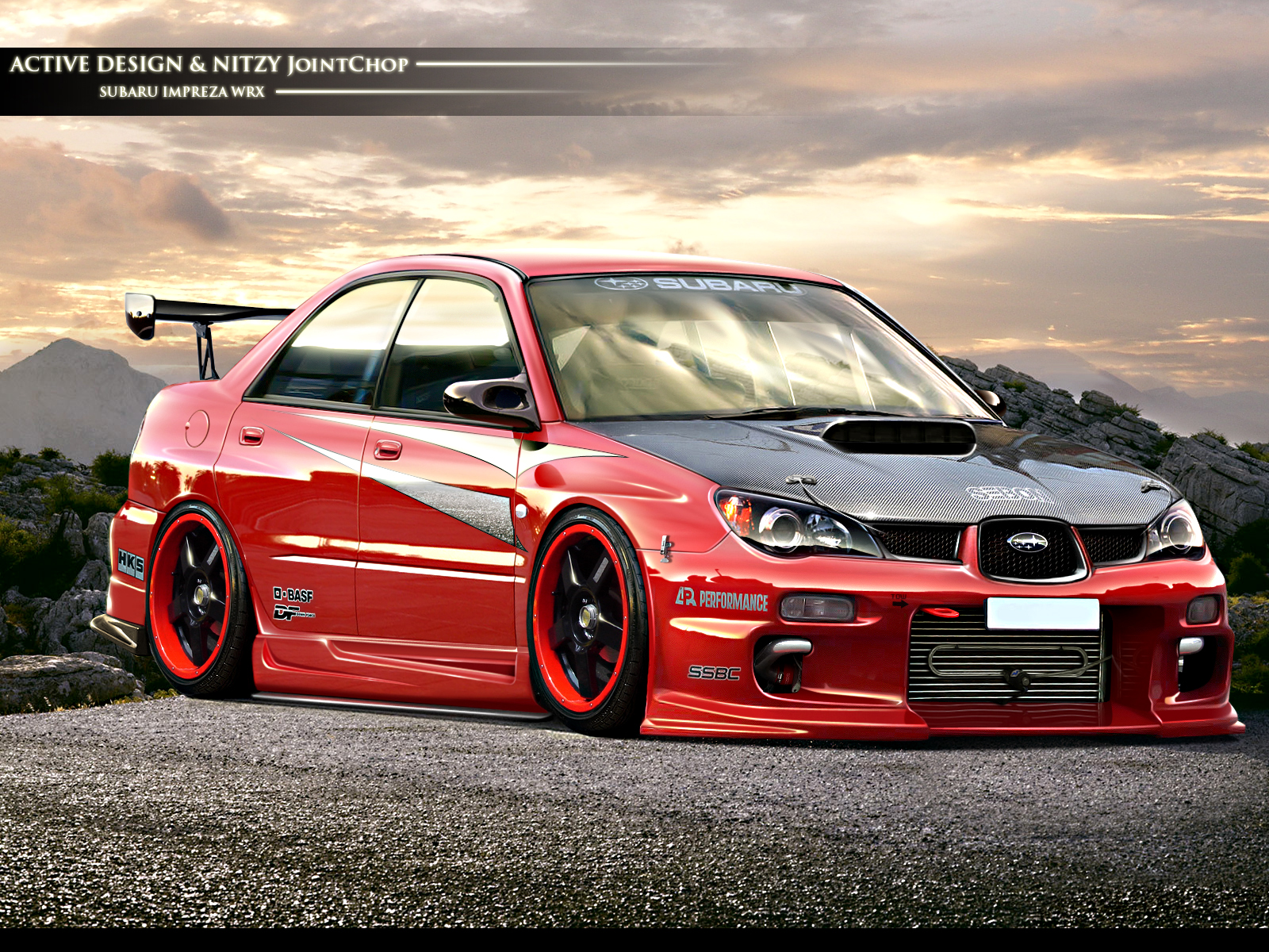 the total tuning subaru impreza. Black Bedroom Furniture Sets. Home Design Ideas