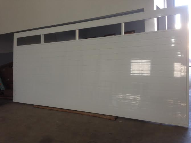 Ferrum esquadrias port o de garagem em alum nio port o na - Pintura de aluminio ...