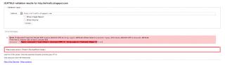 test validitas html5 pada template vikka fast standar