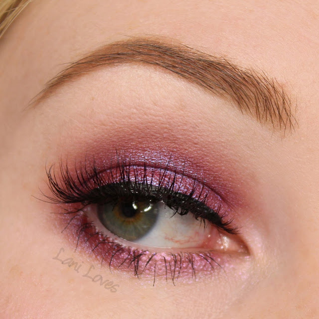 Notoriously Morbid Eyeshadow - Bunnies Frighten Me Swatches & Review