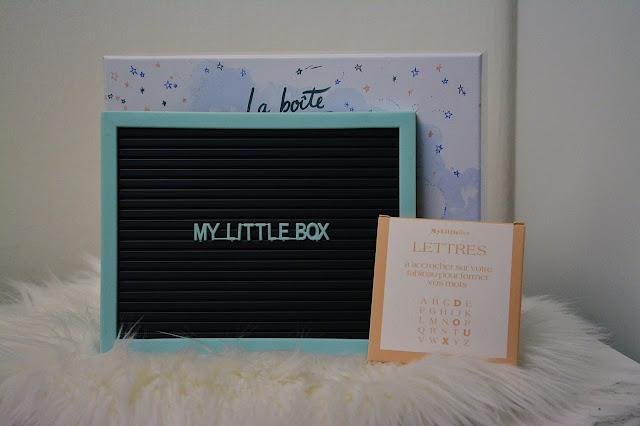 my little box novembre 2018 avis revue test
