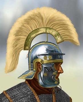 Casco de centurio romano