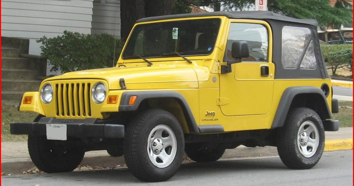 Different Types Of Jeeps >> Types of Jeep Wranglers