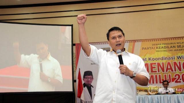 Soal Dukungan TGB ke Jokowi, Mardani Ali Sera: Saya akan Mengeluarkan Pernyataan yang Sama