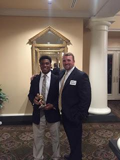 Catholic's Price Named Montgomery Quarterback Club Player of the Week 1