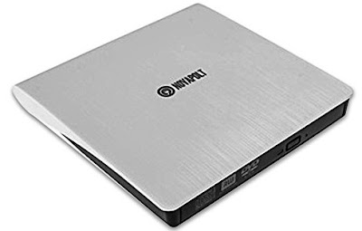 Novapolt DVD Drive - Portable External RW/DVD CD ROM/Burner - USB 3.0 Drive/Writer/Rewriter - Suitable for PCs, Laptops and Notebooks