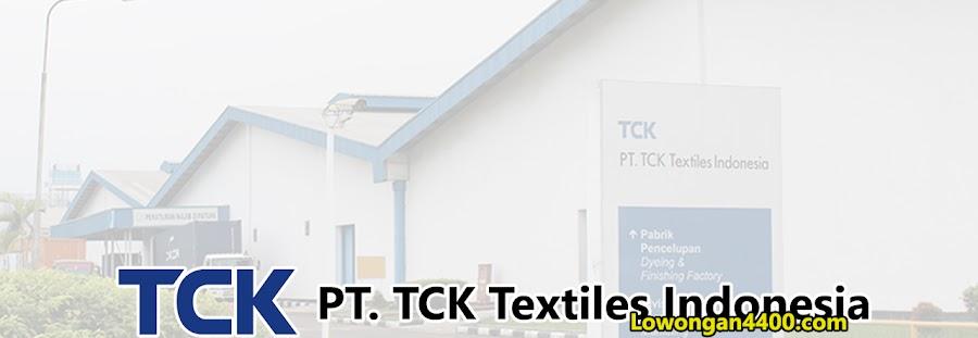 Lowongan Kerja PT. TCK Textiles Indonesia Jababeka Cikarang