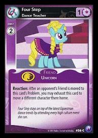 My Little Pony Four Step, Dance Teacher Canterlot Nights CCG Card