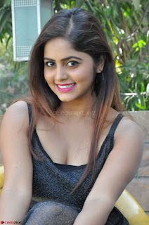Pragya Nayan New Fresh Telugu Actress Stunning Transparent Black Deep neck Dress ~  Exclusive Galleries 074.jpg