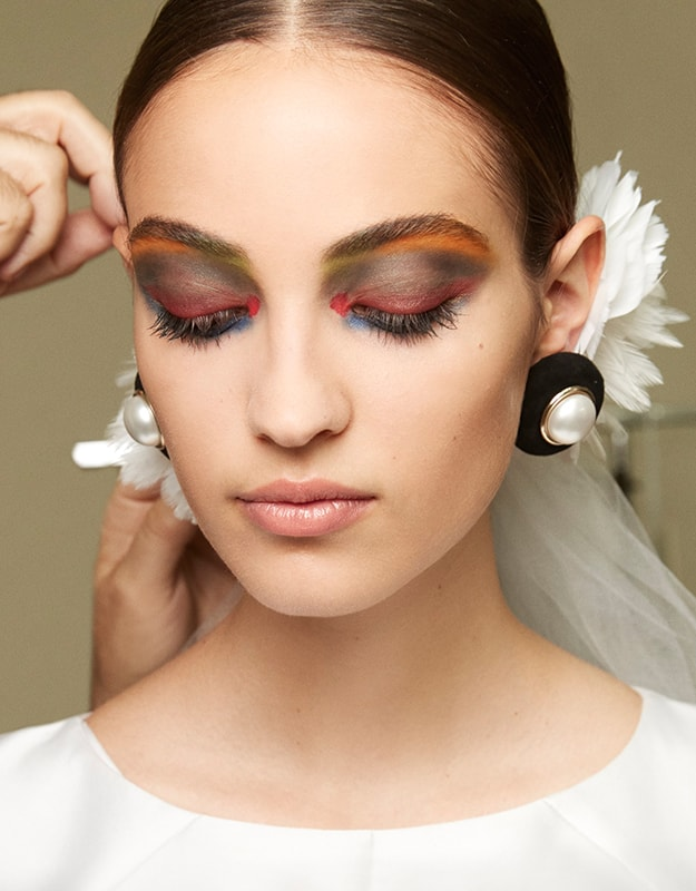 How to Create Chanel's Paris Couture Show Technicolor Eyes