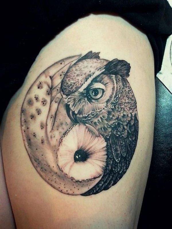 Tatuaje Yin Yang Original Sfb