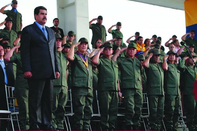 Piden ampliar sanciones de la UE a militares de Venezuela implicados en el narcotráfico