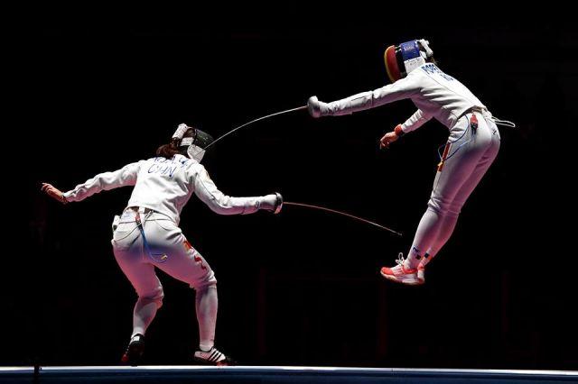 foto incriveis olimpiadas 2016 esgrima - Fotos incríveis das olimpíadas 2016