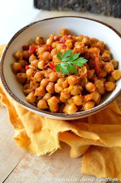 Curry de pois chiches cuisine indienne