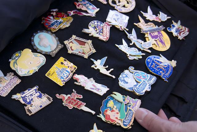 Loja Disney's Pin Traders em Orlando