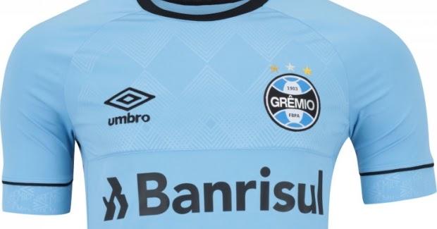 Umbro lança a nova terceira camisa do Grêmio - Show de Camisas 9cc2840811988
