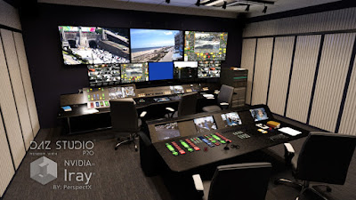 Security Expert Building with Control Room