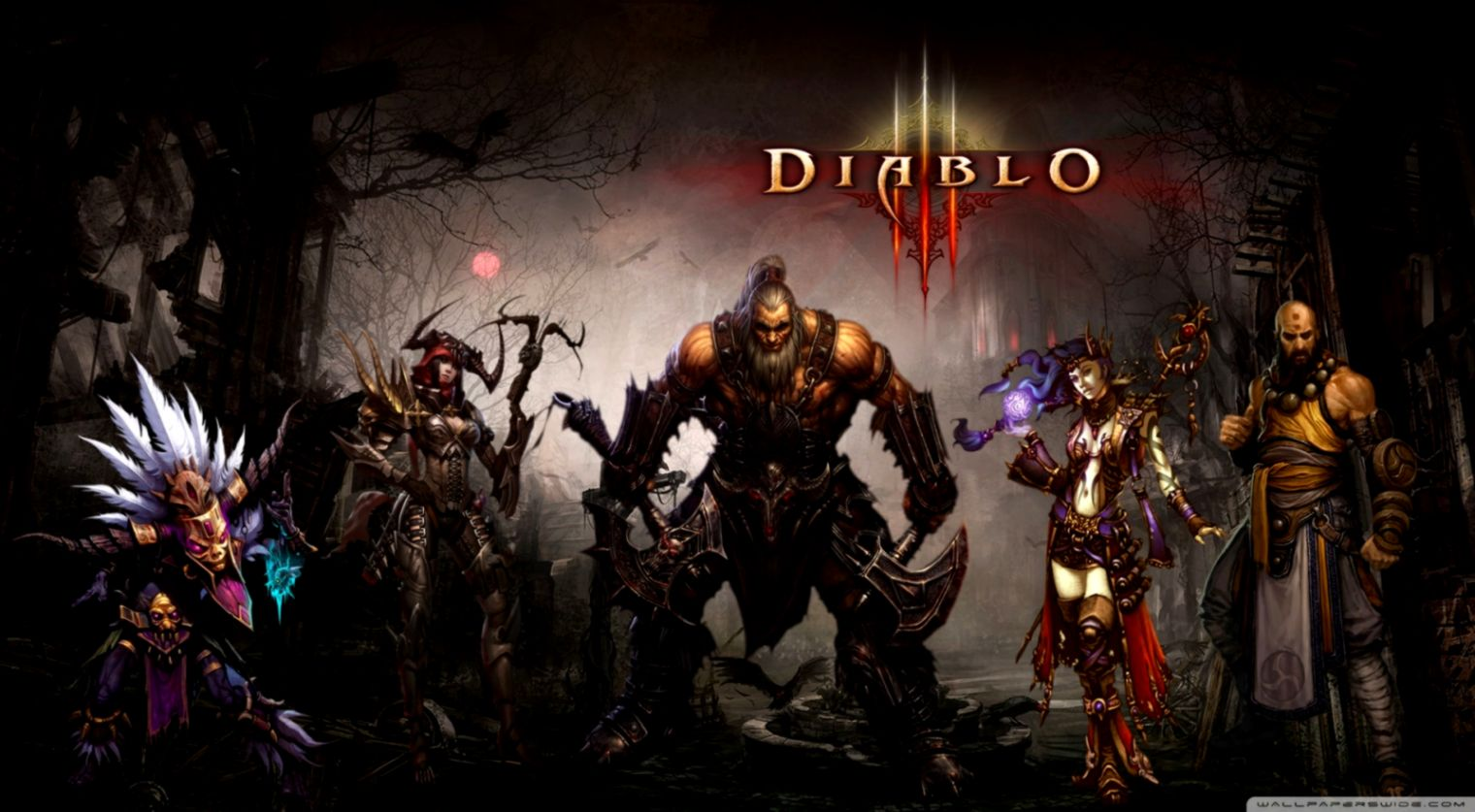 Diablo 3 The Wizard Hd Wallpaper Wallpapers Abstract
