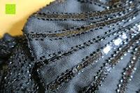 Muster: PrettyGuide Damen 1920er Gatsby Art Deco Perlen Franse Flapper Charleston Kleid