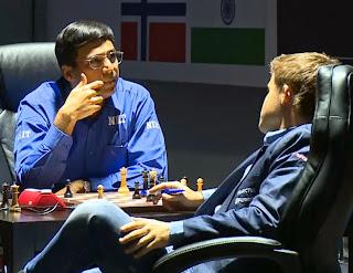 Anand - Carlsen  -  Sochi 2014, Partida 4