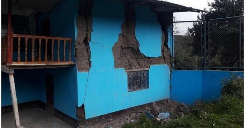 LA LIBERTAD: Suspenden clases en 56 colegios afectados por sismo