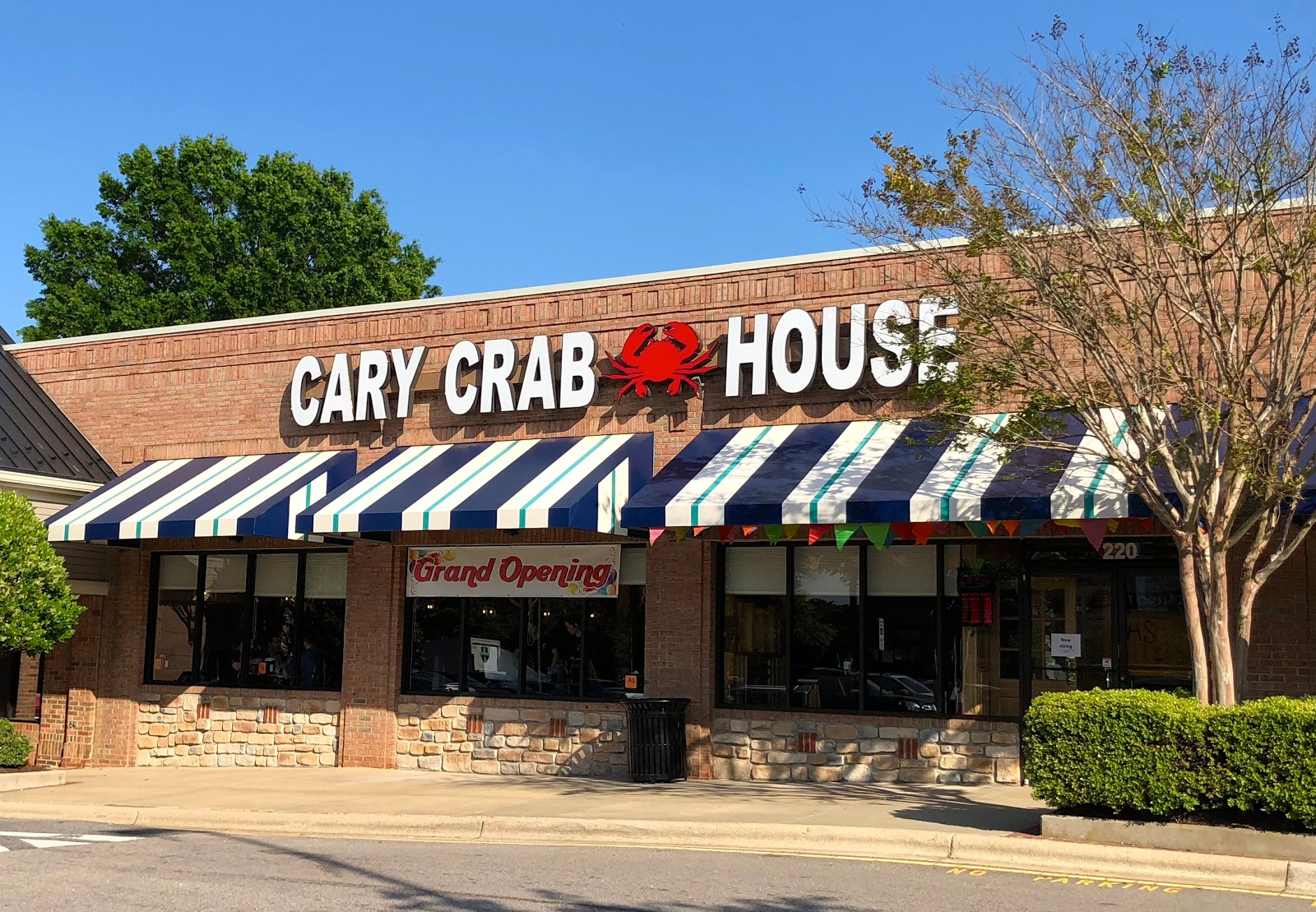 Blue Skies For Me Please Cary Crab House Restaurant