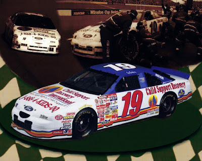 Gary Bradberry #19 Child Support Racing Champions 1/64 NASCAR diecast blog 1-800-4-KIDS-00