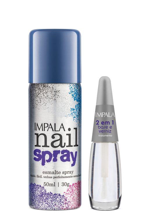 Impala lan a linha de esmaltes em spray beleza em cachos for Esmalte para baneras en spray