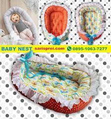 Tempat Tidur Bayi Portable : Baby Nest