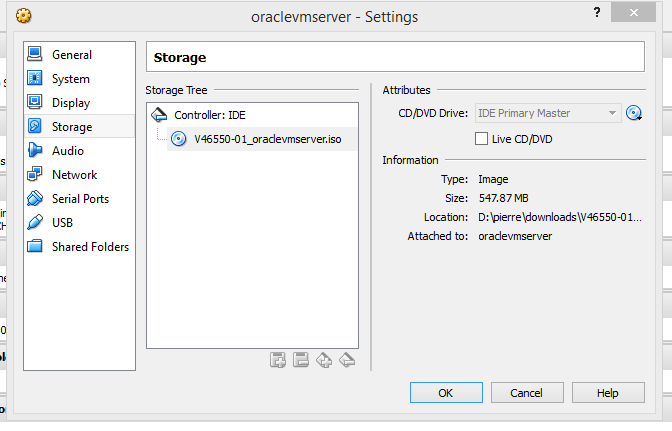 Java mon amour: Installing Oracle VM Server on     Oracle