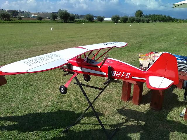 aeromodello della Graupner Starlet 2400