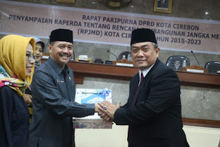 DPRD Menyetujui  Perubahan BPR Bank Cirebon