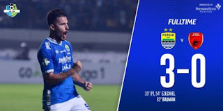 Persib Bandung vs PSM Makassar 3-0 Video Gol Highlights