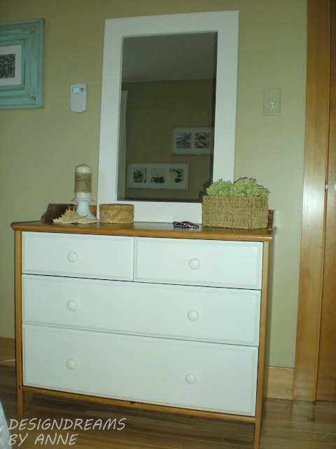 ... Look With The Guard Piece Around The Top So I Added Vintage Wood Knobs  To Make It Look Like The Old Dressers From The 1920s And 30s.