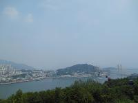 funivia verso jasan park  yeosu