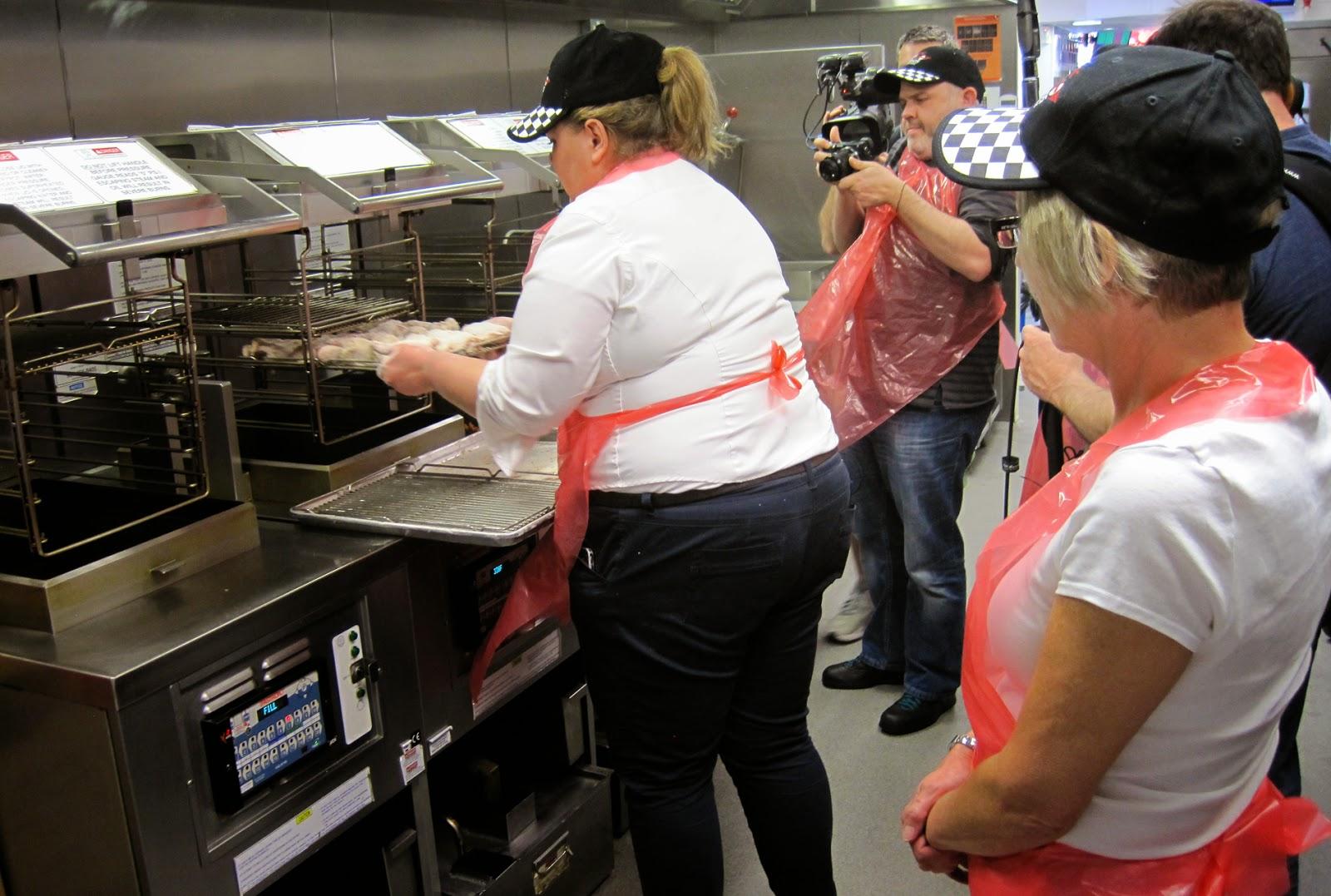KFC how it is made