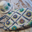 Spring Flower Granny Square Shoulder Bag