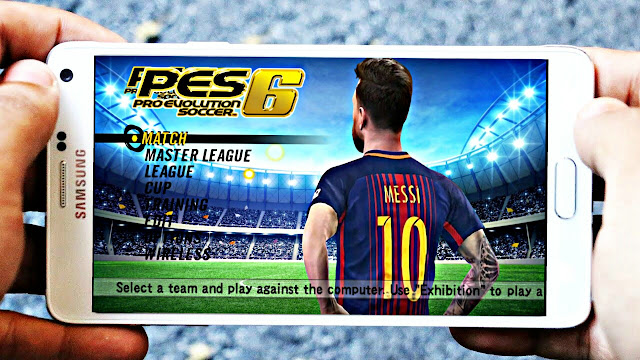 PES 6 Patch PES 2018 Best Graphics 700 Mb Android Offline