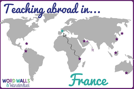 Teaching Abroad in France: Guest Post from Izzy