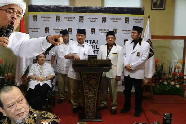 Alumni Aksi 212 Kecewa Hanya Dapat Bung Nasi dari Partai Gerindra