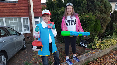 Dan Jon Jr as Ash Ketchum and Top Ender as the Girl Inkling from the Wii U Game Splatoon