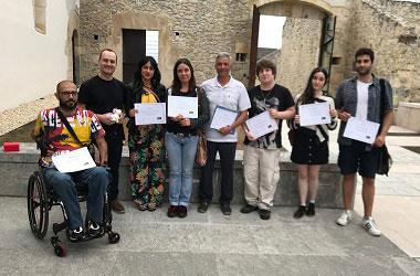 Alumnos del curso de escritura creativa de Santander