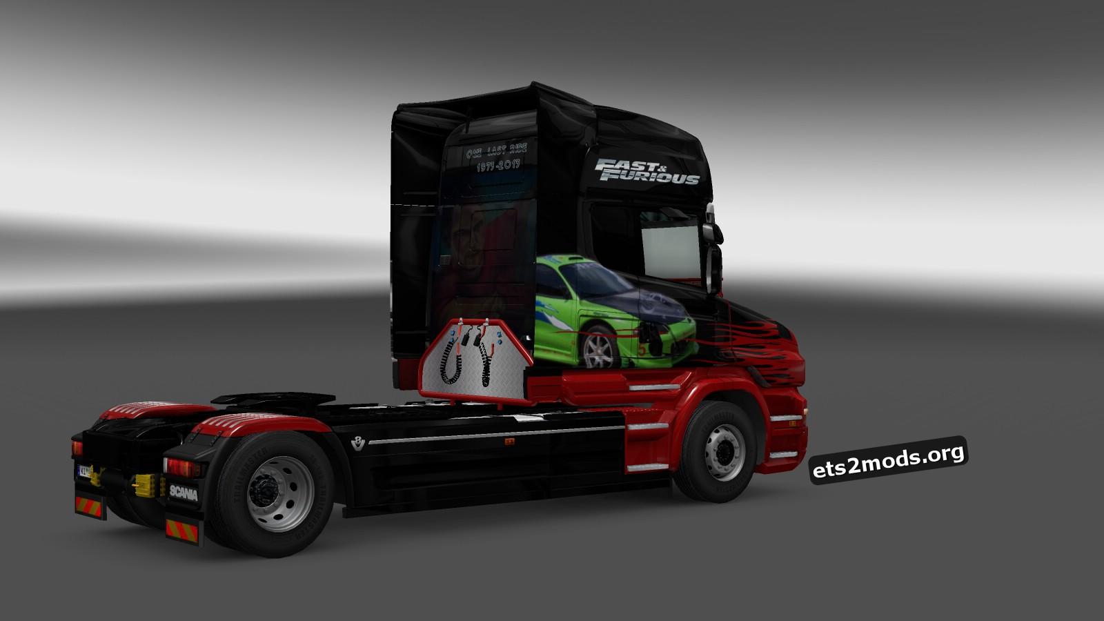 Scania T One Last Ride Skin