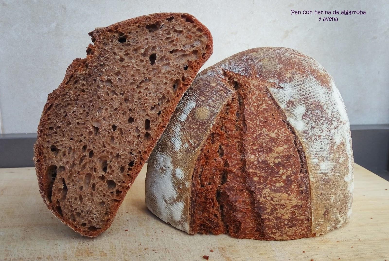Cocinax2 las recetas de laurita pan con harina de - Cocinar harina de avena ...