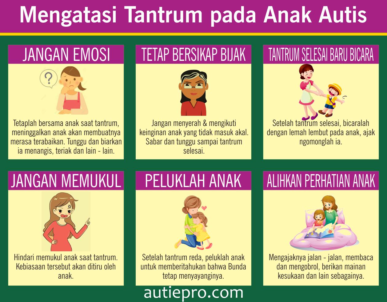 Mengatasi Tantrum pada Anak Autis