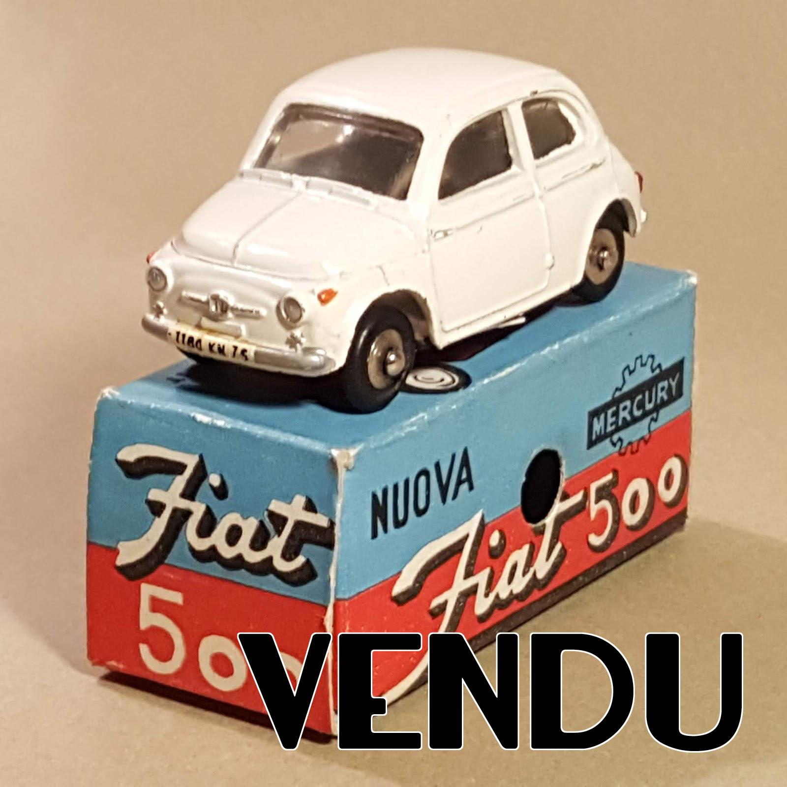 Repro Box Mercury Art.1 Fiat 500