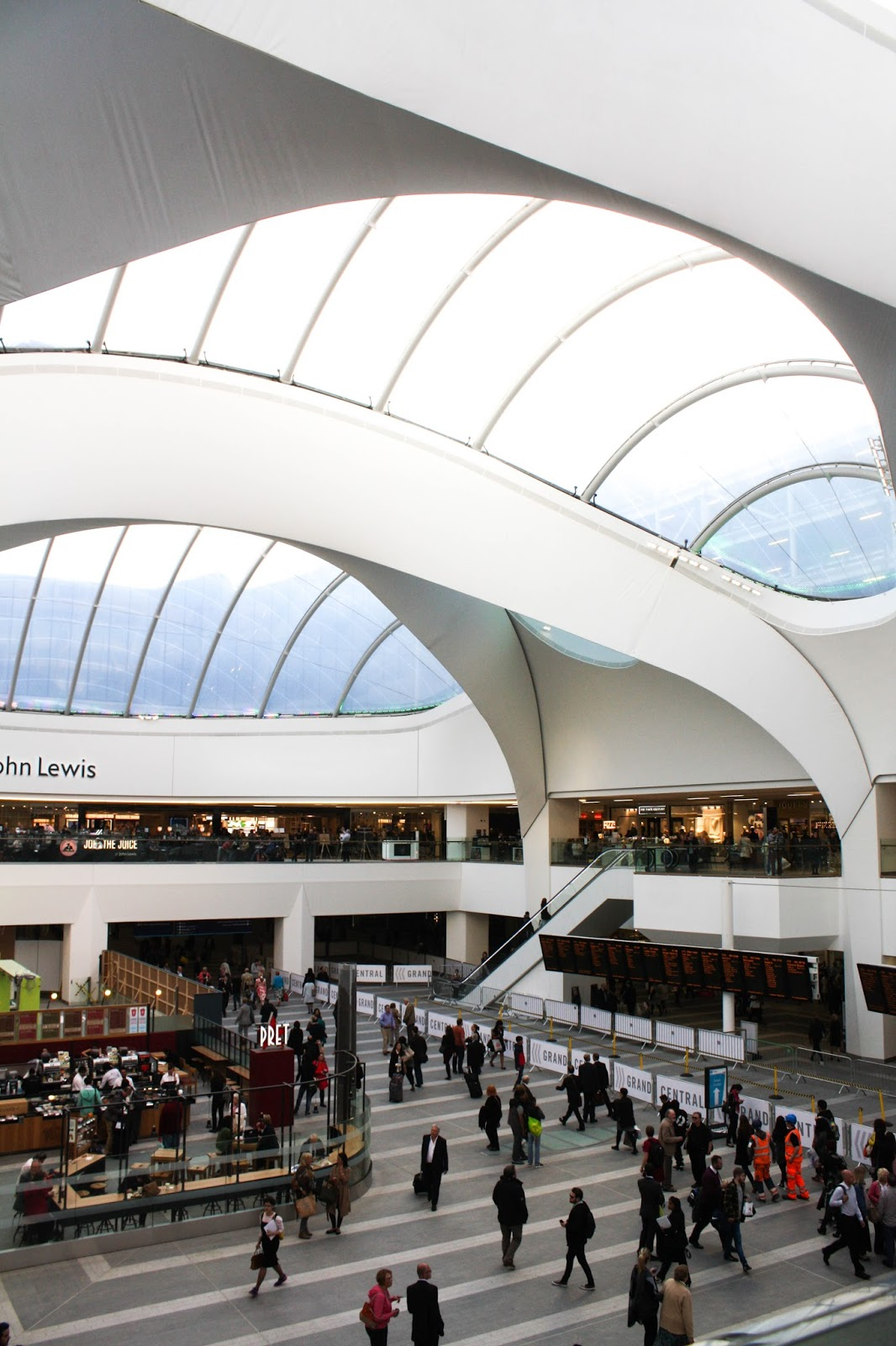 First impressions of Grand Central, Birmingham