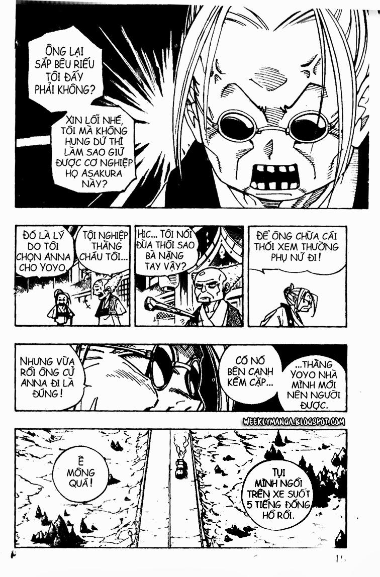 Shaman King [Vua pháp thuật] chap 91 trang 11
