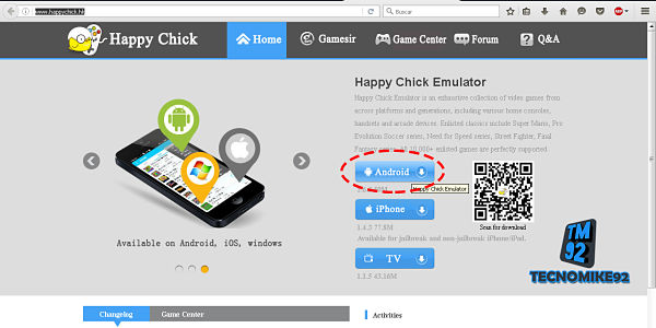 happy chick emulador android tecnomike92